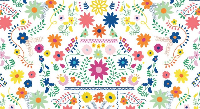 Fiesta Fun Fabric by Dana Willard for Art Gallery Fabrics