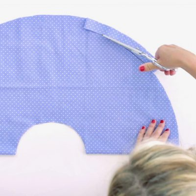 How to cut fabric in a straight line and how to cut fabric on a curve on MADE Everyay with Dana Willard video