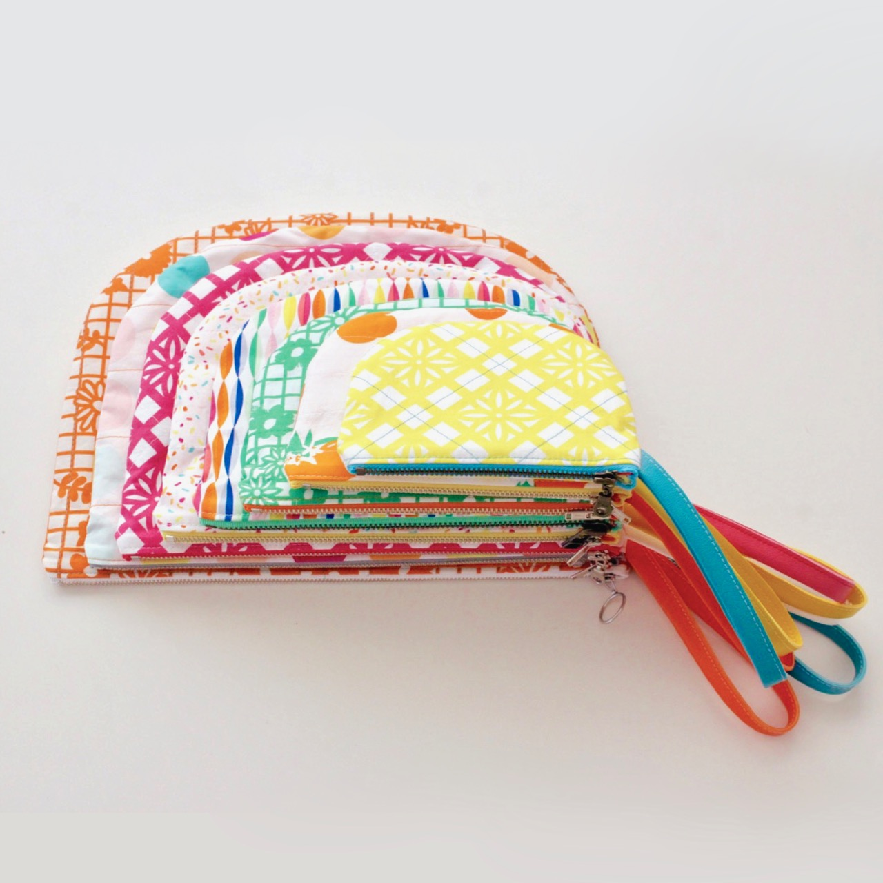 Parfait Pouch sewing pattern by MADE Everyday | Art Gallery Fabrics designed by Dana Willard