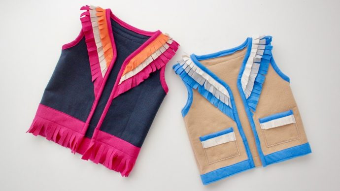 How to Make a Vest - sewing tutorial and FREE PATTERN from MADE Everyday
