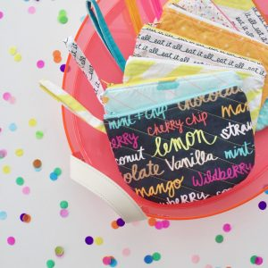 Parfait Pouch sewing pattern from MADE Everyday