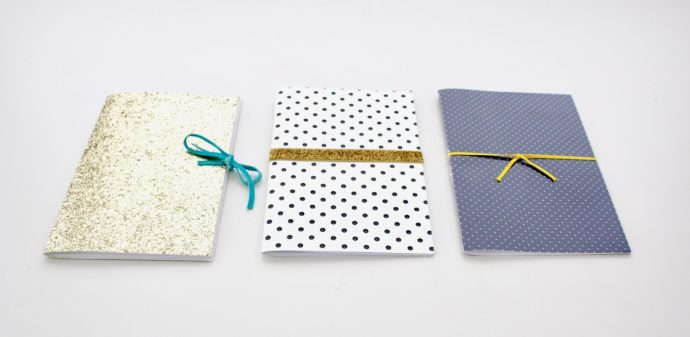 How to Sew a Notebook or Journal - sewing tutorial video from MADE Everyday