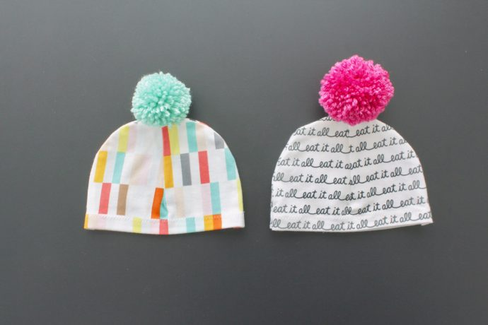 baby bobble hats