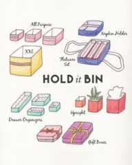 Hold It Bin sewing pattern from MADE Everyday with Dana