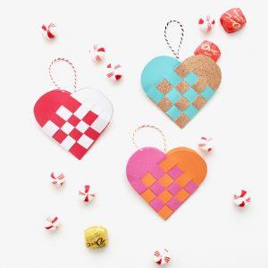 How to make Danish Heart Baskets - a holiday tutorial on MADE Everyday with Dana Willard