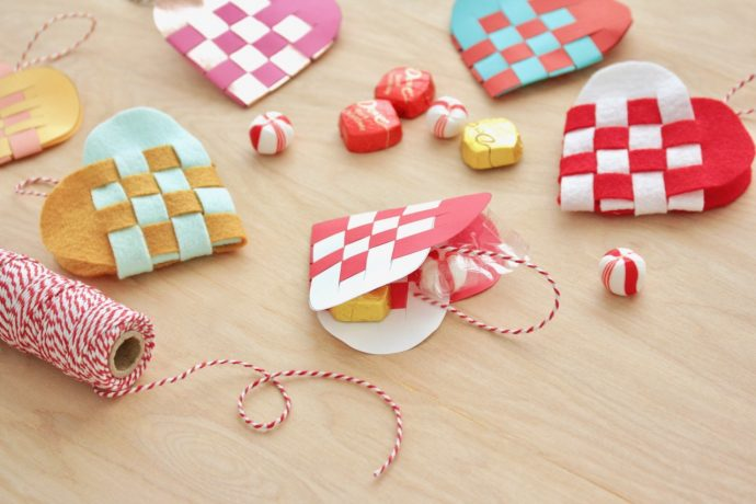 How to make Danish Heart Baskets - a holiday tutorial on MADE Everyday with Dana Willard