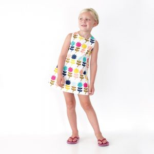 How to Sew a Kids Dress | Video Tutorial from MADE Everyday with Dana Willard | First Day Dress sewing pattern