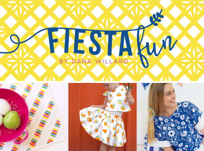 Fiesta Fun fabric collection by Dana Willard for Art Gallery Fabrics