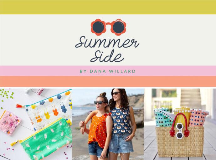 Summer Side fabric collection by Dana Willard for Art Gallery Fabrics