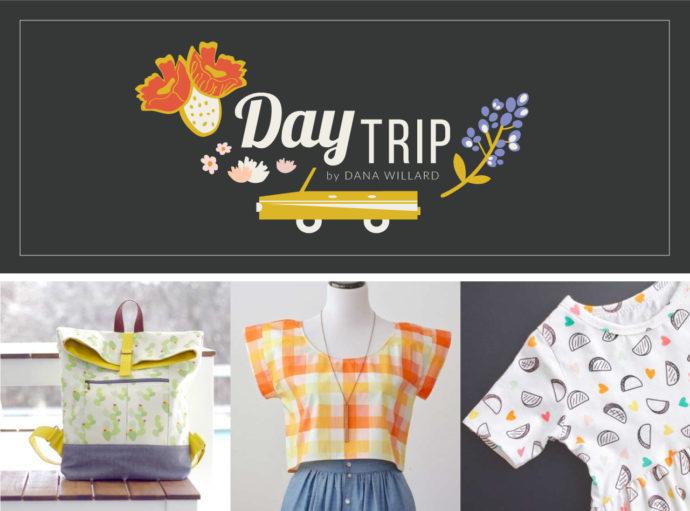 Day Trip fabric collection by Dana Willard for Art Gallery Fabrics