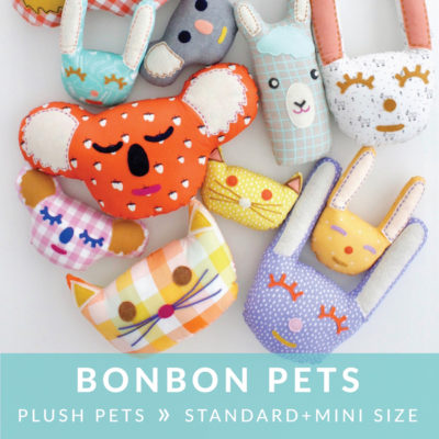 Bonbon Pets sewing pattern from MADE Everyday