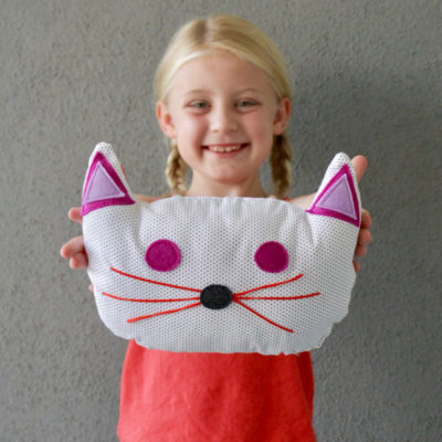 Bonbon Pets craft pillow sewing pattern from MADE Everyday with Dana Willard
