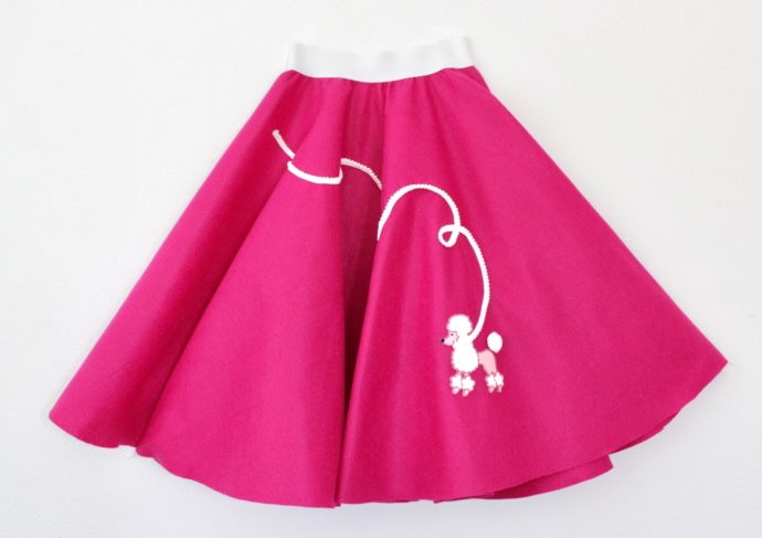 How To Make A Poodle Skirt Made Everyday